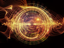 Virtual Central Wave Stock Images