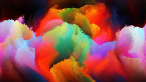Virtual Colors Stock Photo