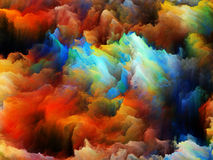 Virtual Colors Royalty Free Stock Photo
