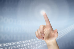 Virtual communication Royalty Free Stock Images