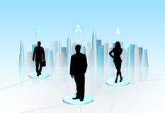 Virtual communication Royalty Free Stock Photography