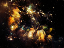 Virtual Crab Nebula Stock Image