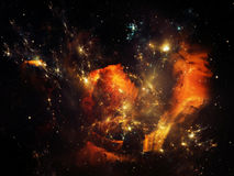 Virtual Crab Nebula Royalty Free Stock Image