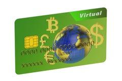 Virtual Credit Card Royalty Free Stock Photography