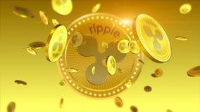 Shiny Ripple financial background Stock Photos