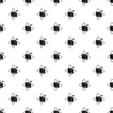 Virtual cube pattern vector Stock Photography