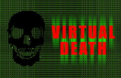 Virtual Death Stock Image