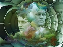 Virtual Dream Stock Image