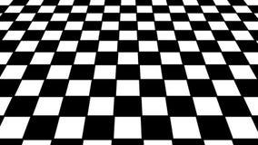 Virtual floor chess background stock video