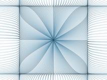 Virtual Fractal Burst Stock Photo
