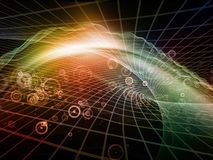 Virtual Fractal Realms Stock Images