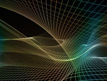 Virtual Fractal Realms Royalty Free Stock Images