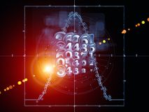 Virtual Geometry Stock Photo