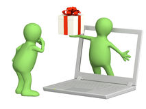 Virtual gift Royalty Free Stock Photo
