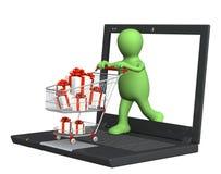Virtual gift Royalty Free Stock Photo