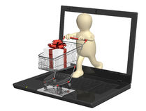 Virtual gift Stock Photos