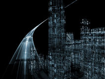 Virtual Highway Stock Photography