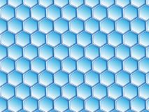 Virtual Honeycomb Design vector illustration