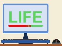 Virtual life Stock Photos