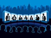 Virtual meeting Stock Photography