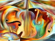 Virtual Music vector illustration