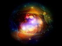 Virtual Nebulae Stock Photography