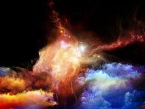 Virtual Nebulae Stock Images