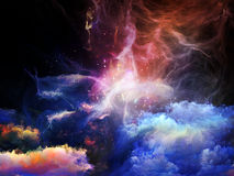 Virtual Nebulae Stock Image