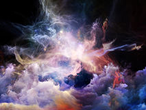 Virtual Nebulae Stock Image