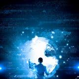 Virtual panel Stock Photography