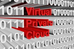 Virtual private cloud Stock Images