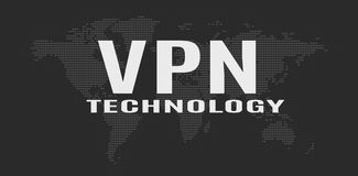 Virtual Private Network concept Royalty Free Stock Image