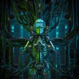 The virtual quantum reaper stock photography