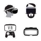 Virtual reailty gaming Stock Photography