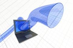 Virtual reality. Hi-res digitally generated image Royalty Free Stock Photography