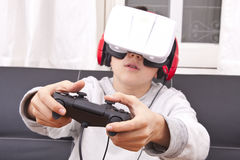 Virtual reality Royalty Free Stock Photography