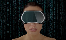 Virtual Reality Concept. Stock Photo