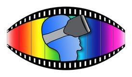 Virtual reality concept Royalty Free Stock Photo
