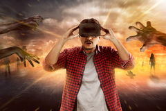 Virtual Reality Conceptual Images Royalty Free Stock Images
