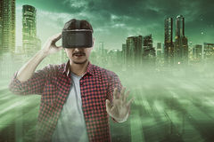 Virtual Reality Conceptual Images Royalty Free Stock Image