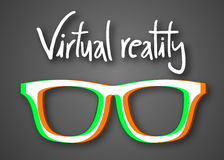 Virtual reality Royalty Free Stock Photography