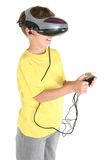 Virtual reality games Royalty Free Stock Photo