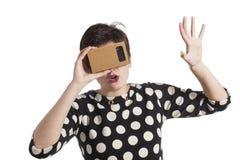 Virtual reality Stock Image