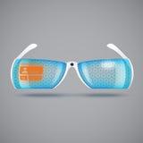 Virtual reality glasses Royalty Free Stock Image