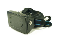 Virtual reality glasses. Front side Stock Image
