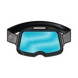 Virtual reality glasses icon Royalty Free Stock Photo