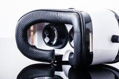 Virtual reality goggles on shiny surface Royalty Free Stock Photography