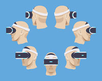 Virtual reality headset Royalty Free Stock Photos