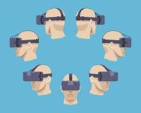 Virtual reality headset Royalty Free Stock Image