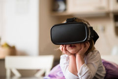 Virtual reality is real Stock Photography